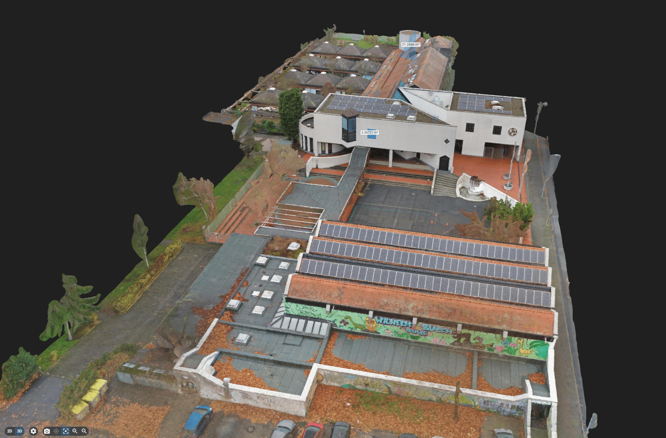 3D Modell Schule