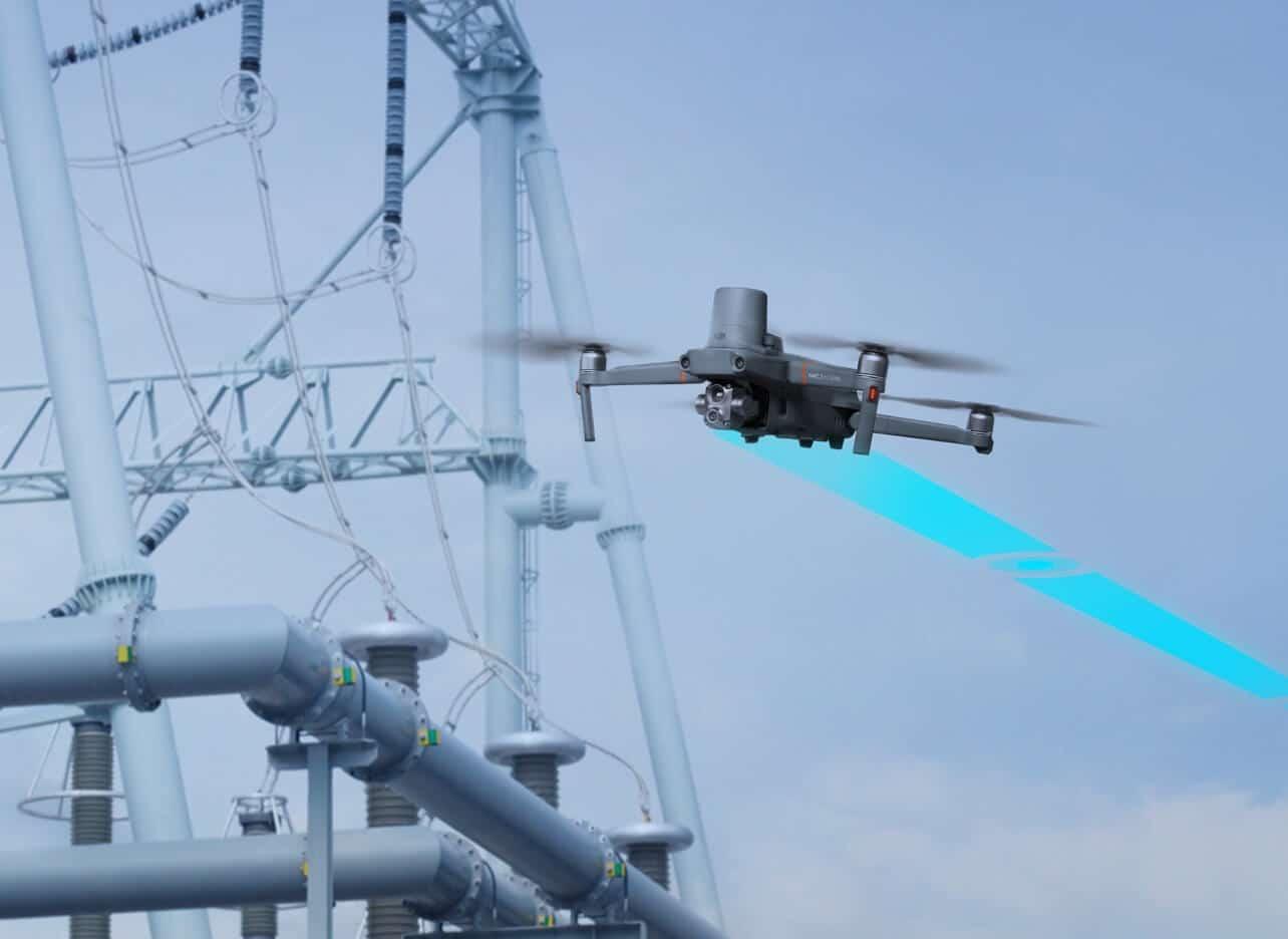 Foto einer Drohne
