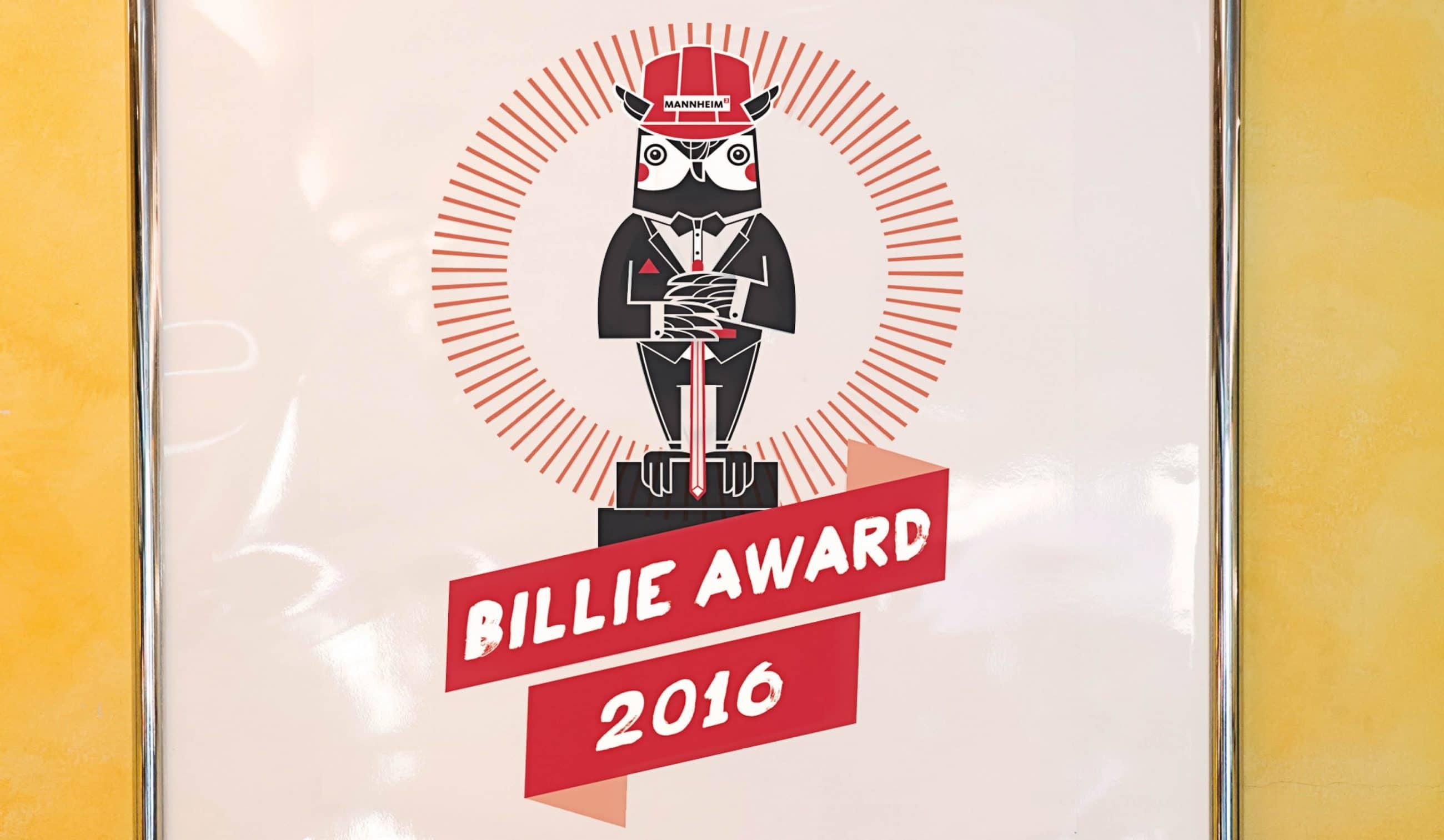 Poster Billie Award