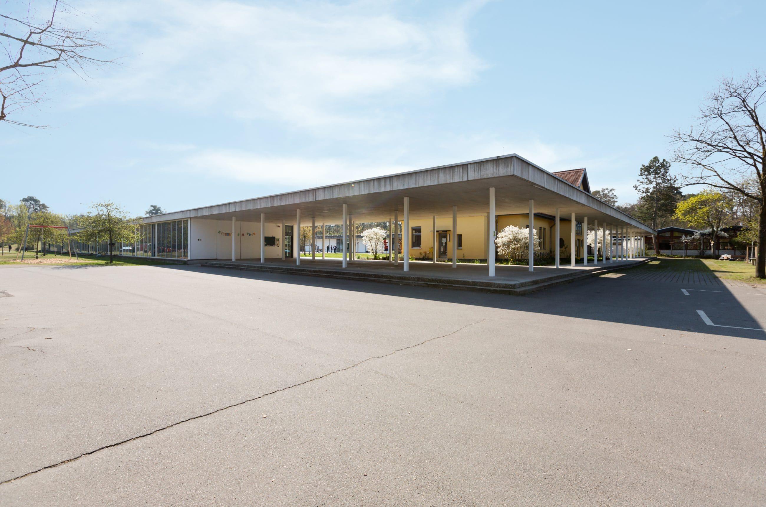 Eugen-Neter-Schule Außenansicht