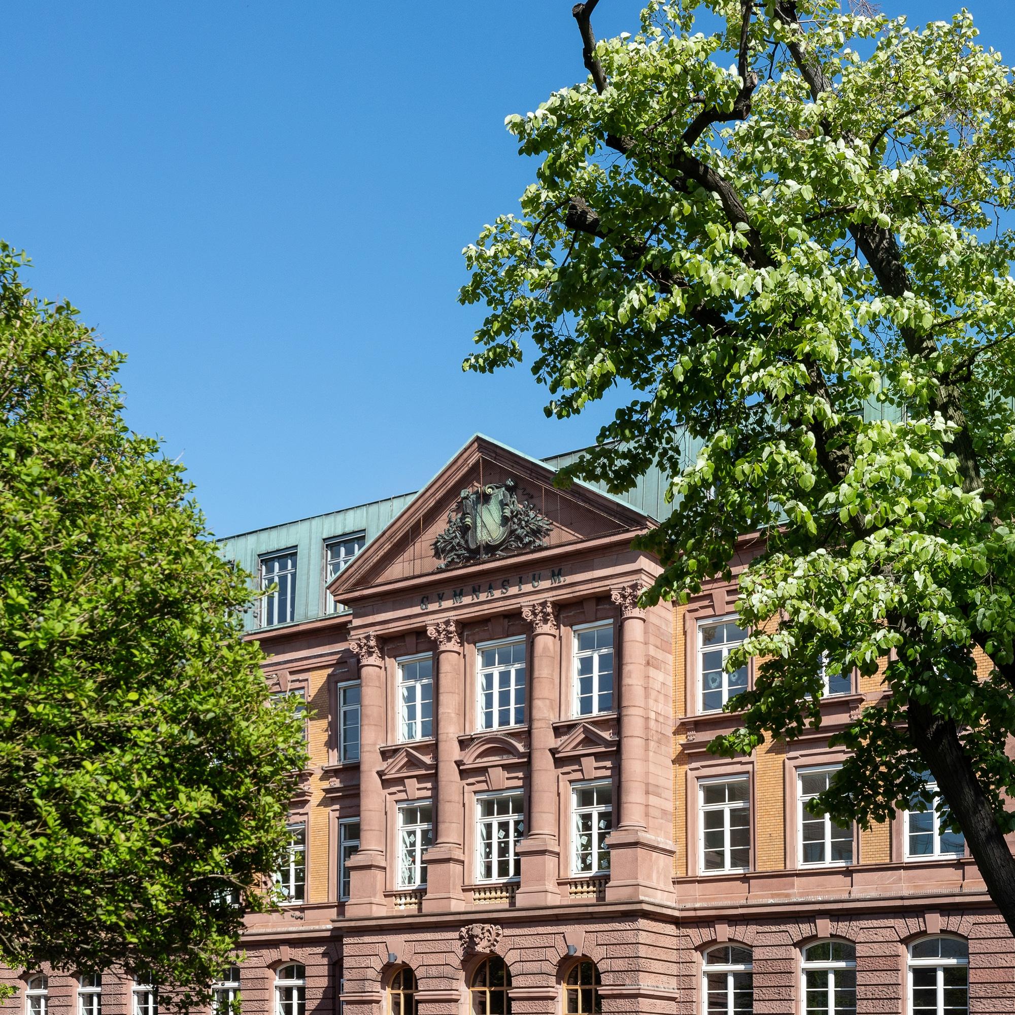 Karl-Friedrich-Gymnasium Außenansicht